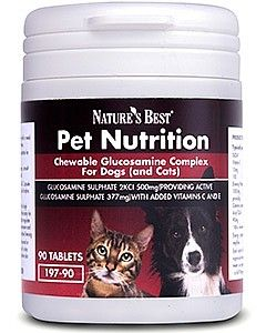 Glucosamine Complex for Dogs 90 tabletek NATURE'S BEST