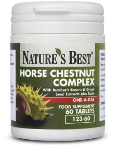 Horse Chestnut Complex 60 tabletek Nature's Best