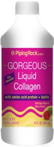 URODA Liquid Collagen Delicious Natural Berry Flavor 473 ml PIPING ROCK