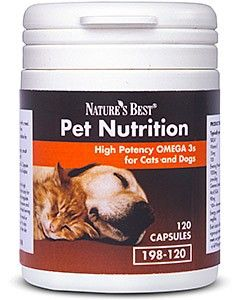 Omega 3s for cats and dogs 120 tabletek NATURE'S BEST