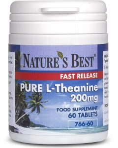 Theanine 200 mg 60 tabletek NATURE'S BEST