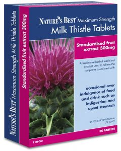 Milk Thistle Tablets 7200-8100 mg 30 tabletek NATURE'S BEST