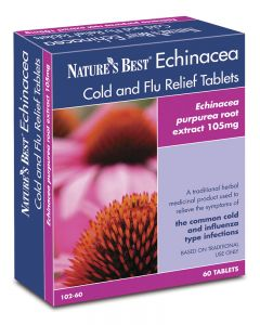 Echinacea Cold and flu Relief Tablets 60 tabletek NATURE'S BEST