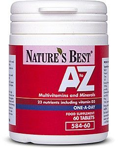 A-Z Multi 60 tabletek NATURE'S BEST