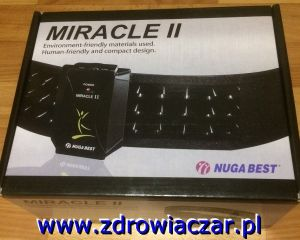 Zdrowotny Pas Miracle II Nuga Best z Turmanium Tourmanium
