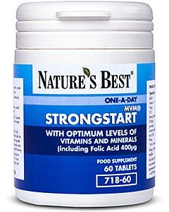 StrongStart® 60 tabletek NATURE'S BEST