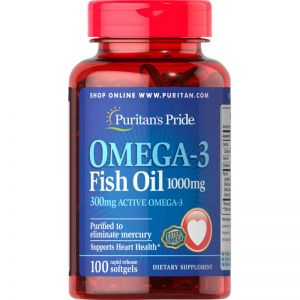 Omega 3 100 tabletek 100 mg Puritan's Pride