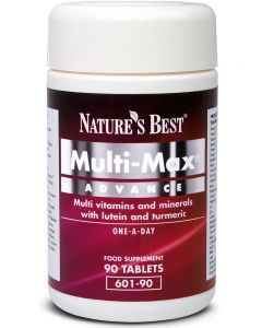 Multi-Max Advance® for the over 50's 90 tabletek NATURE'S BEST