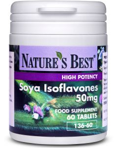 Soya Isoflavones 60 tabletek 50 mg NATURE'S BEST
