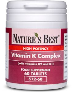Vitamin K Complex 60 tabletek NATURE'S BEST