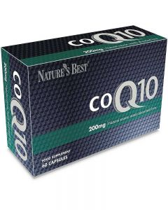 Co-Q10 200 mg 60 tabletek NATURE'S BEST