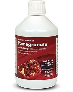 Pomegranate Concentrate with Red Grape 500 ml NATURE'S BEST