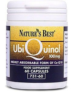Ubiquinol 100 mg 60 tabletek NATURE'S BEST