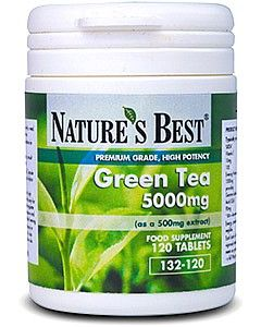 Green Tea 5000 mg 120 tabletek NATURE'S BEST
