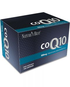 CO Q10 100 mg 120 tabletek NATURE'S BEST