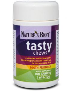 Tasty Chews 100 tabletek NATURE'S BEST