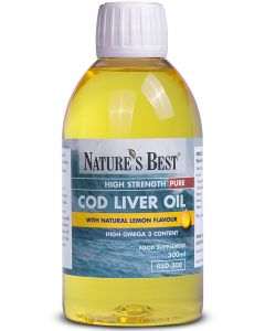 Liquid Cod Liver Oil 300 ml NATURE'S BEST