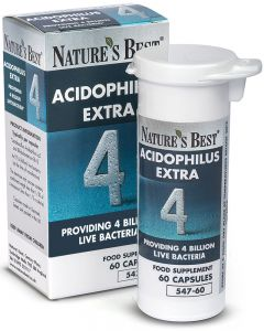 Acidophilus Extra 4 Billion 60 tabletek NATURE'S BEST