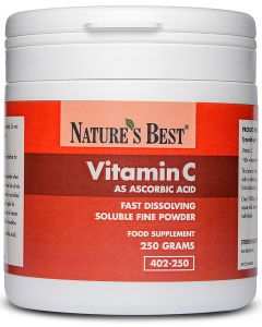 Vitamin C - (As Ascorbic Acid Powder) 250 g NATURE'S BEST